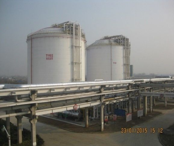 Cryogenic Engineering LNG Regasification Terminal 06Cr19Ni10 Inner Tank